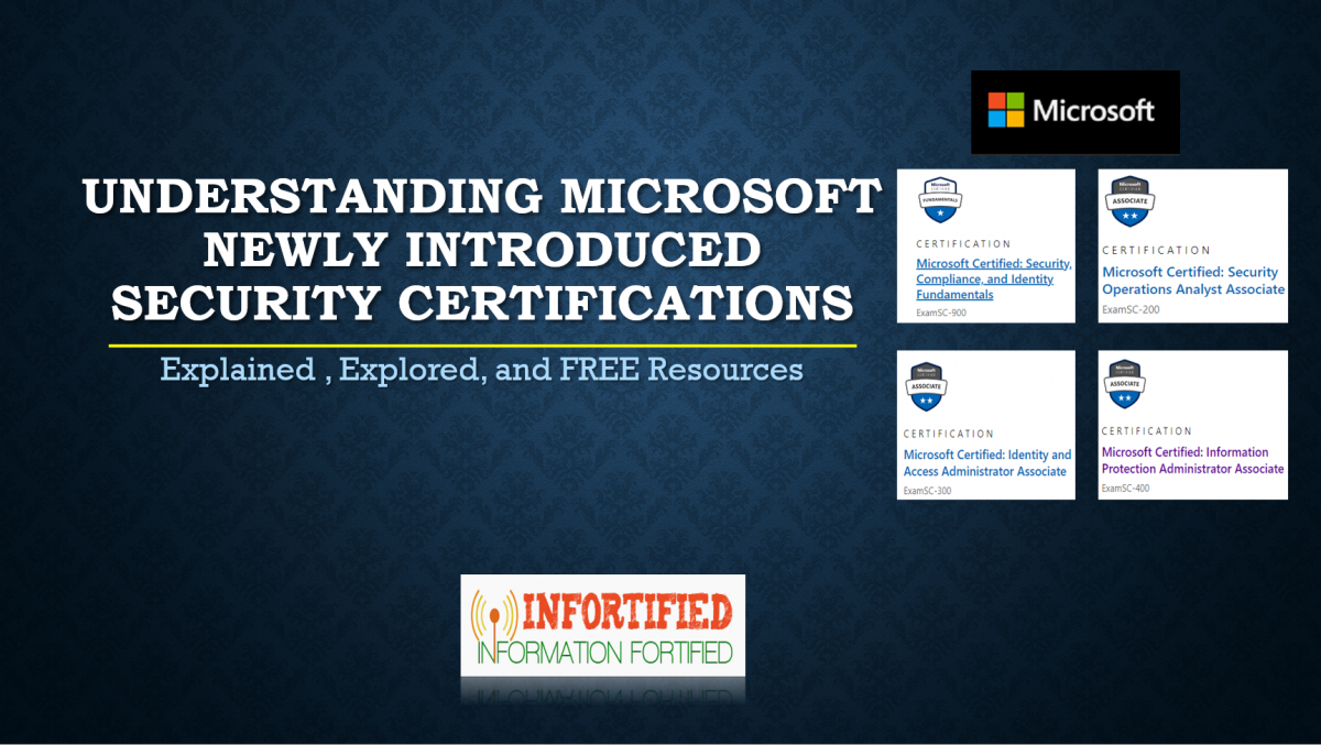 Read more about the article Understanding Microsoft Newly Introduced Security Certifications